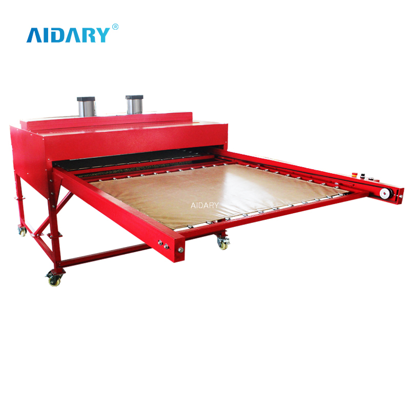 "39""*47"" Big Format Dual Heaitng Up Pneumatic Sublimation Heat Press B5-3"