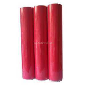 RED Color PU Vinyl Film B12