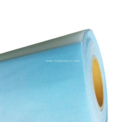 Peacock Blue Color PU Vinyl Film B02