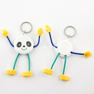 Cartoon Key Chain Badge