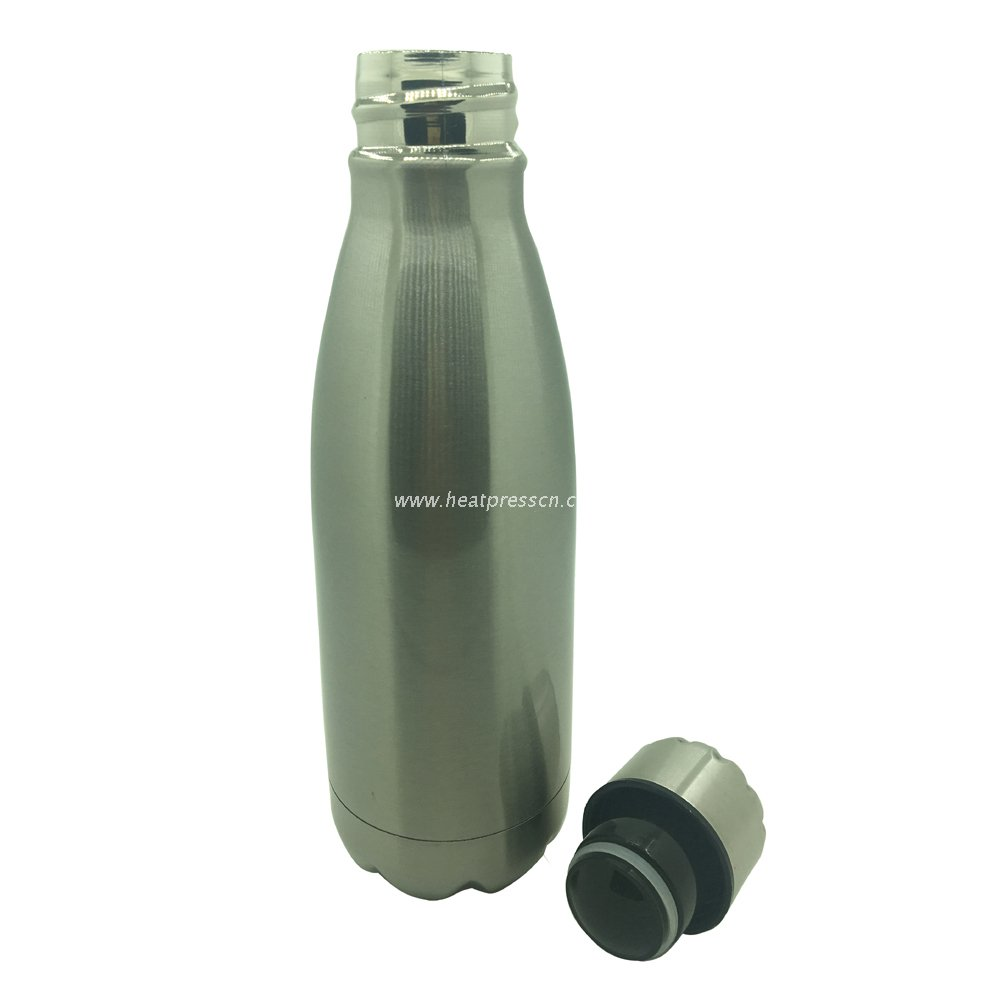 Customized 500ml Cola Shape Vacuum Flask Stainless Steel Thermos