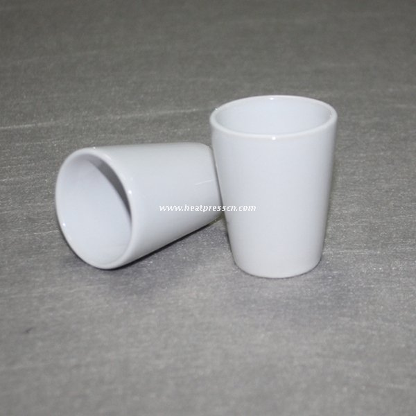 1.5oz Sublimation Shot Ceramic Mug 3D5OS