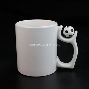 11oz Sublimation Football Mug