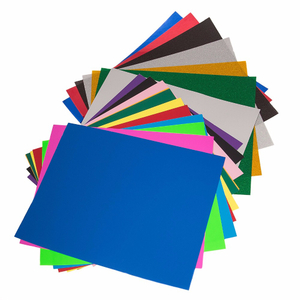 "12"" X 10"" Amazon Supplier PU Heat Transfer Vinyl 28colors Available"