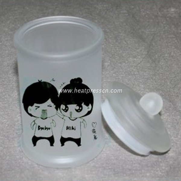 China Supplier Sublimation Glass Seal Pot SPG