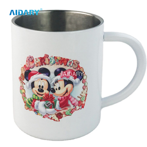 Factory Sublimation Steel Handle Mug