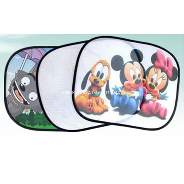 Sublimation Car Sunshade Set CSS