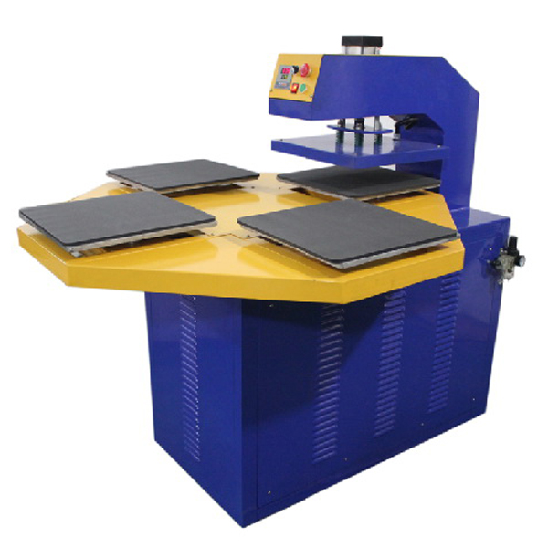 Four Working Tables High Efficient Printing Pneumatic Automatic Heat Press Machine B5-1