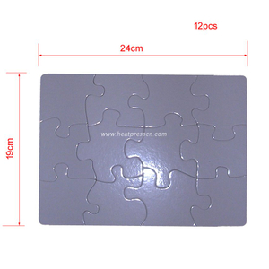 12small pieces Sublimation Jigsaw Puzzle P24