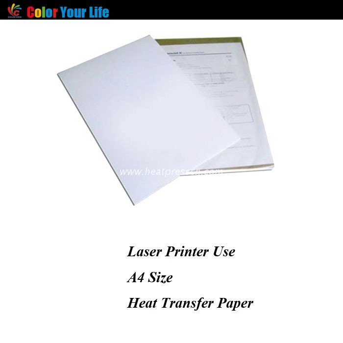 Metal A4 Light Transfer Paper for colourful Laser Printer MLPL