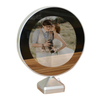 Round Magic Mirror Photo Frame With Light