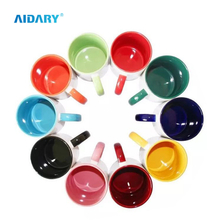AIDARY Sublimation inside And Handle Coloruful Mug Sublimation Two Tones Mug Sublimation Photo Mug