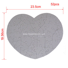 Sublimation Heart Jigsaw Puzzle P25