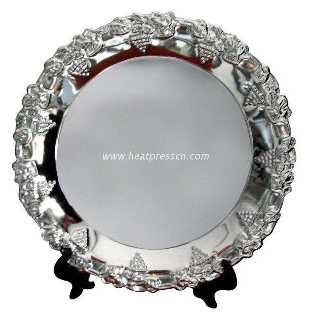 "10"" Lace Metal Plate for Sublimation"