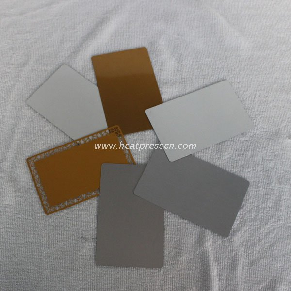 0.45mm Sublimaiton Metal Card MBC45
