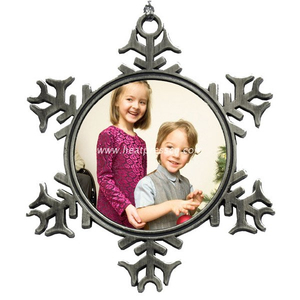 Sublimation Snowflake Pendant