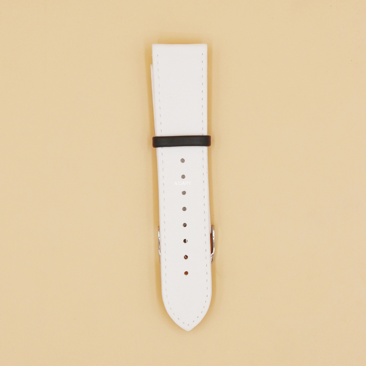 Sublimation Watch Belt Accept Customized Logo Handmade Fashion Silicone PU Leather Watch Belt