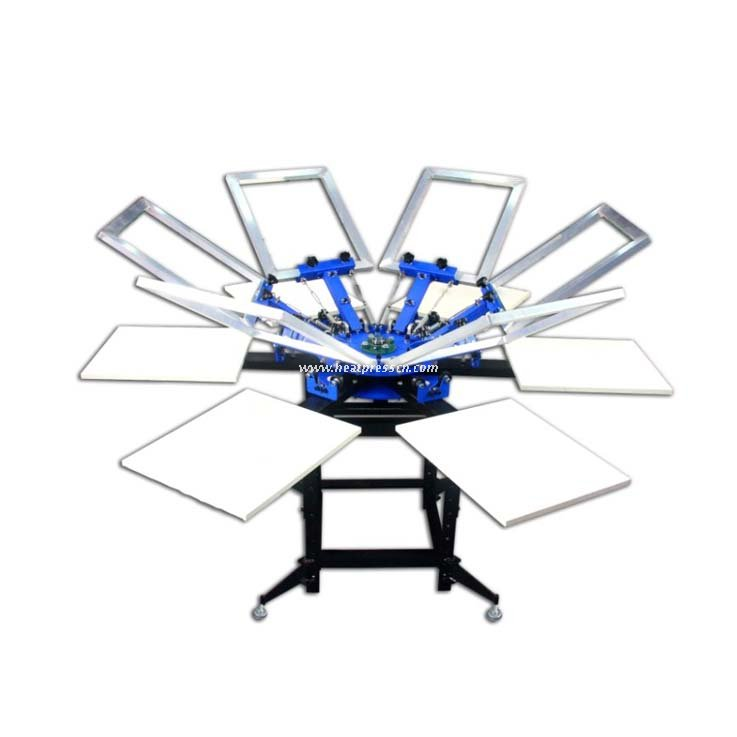 Six-color Six-state Double-wheel Screen Printing Machine