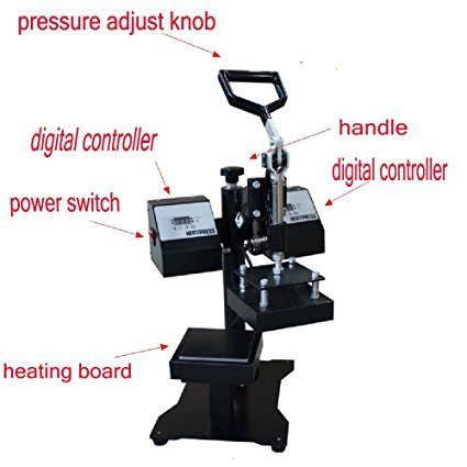 Swing Away Double Heating Platen Rosin Heat Press RP0902