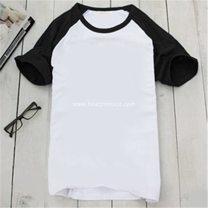 Polyester T-Shirt with Sleeve Colorful for Men PT-M1