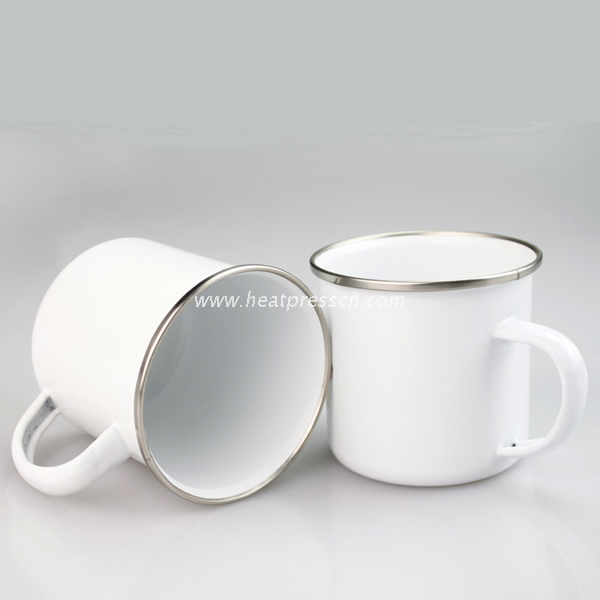 10oz. Sublimation Metal Camp Mug
